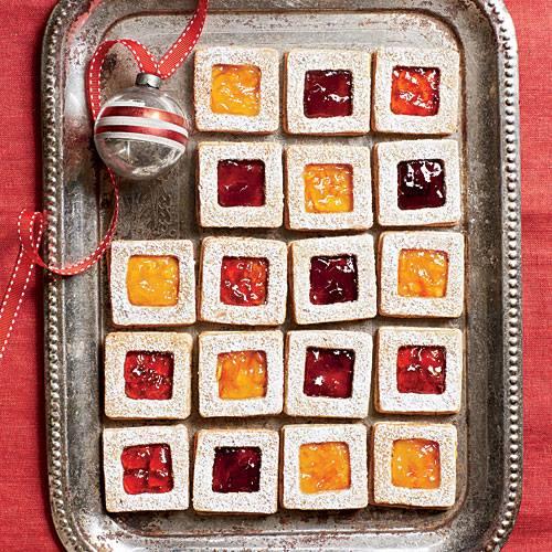 Pecan Linzer cookies - SL