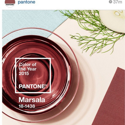 How To Mix It Up with MARSALA – Pantone's 2015 Color Of The Year