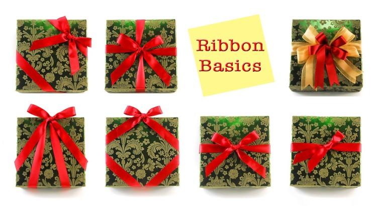 Christmas bow ribbon basics