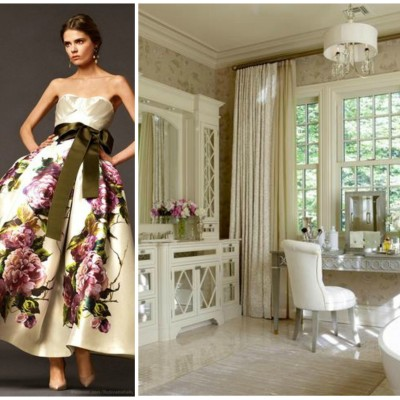 Be Inspired: Couture Fashion Paired With Luxury Bathrooms