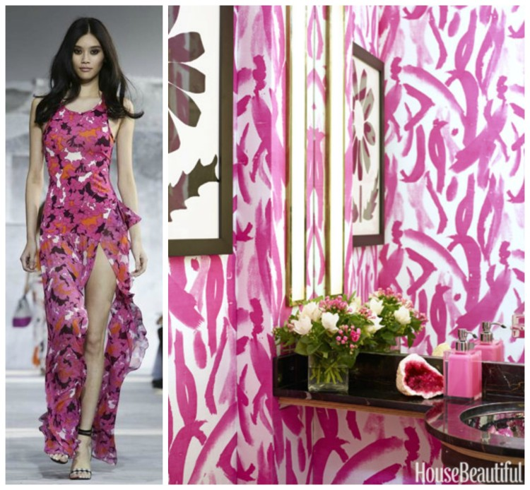 FASHION AND BATH DESIGN PAIRING collage 12 for Hadley Court Blog - by Lynda Quintero-Davids