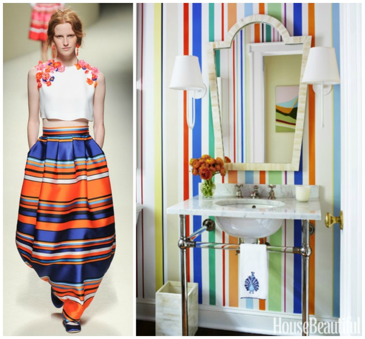 FASHION AND BATH DESIGN PAIRING collage 2 for Hadley Court Blog - by Lynda Quintero-Davids