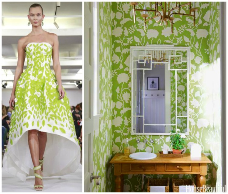 FASHION AND BATH DESIGN PAIRING collage 5 for Hadley Court Blog - by Lynda Quintero-Davids