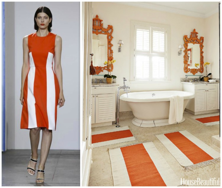FASHION AND BATH DESIGN PAIRING collage 7 for Hadley Court Blog - by Lynda Quintero-Davids