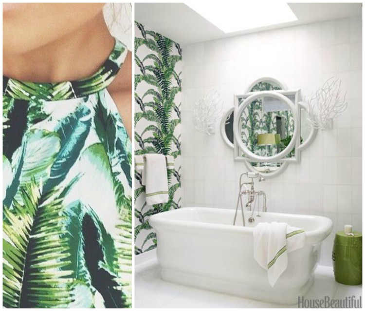 FASHION AND BATH DESIGN PAIRING collage 8 for Hadley Court Blog - by Lynda Quintero-Davids