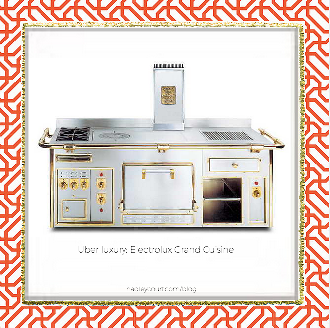 electrolux grand cuisine stove photo