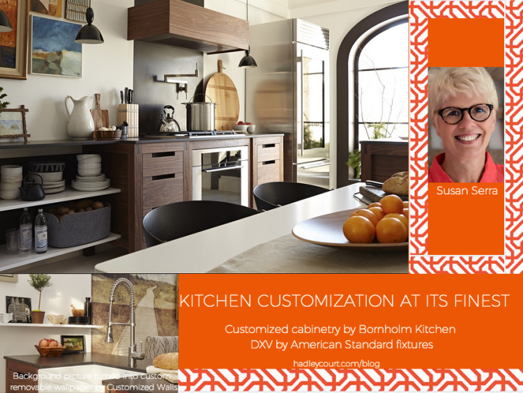 Susan Serra kitchen customization