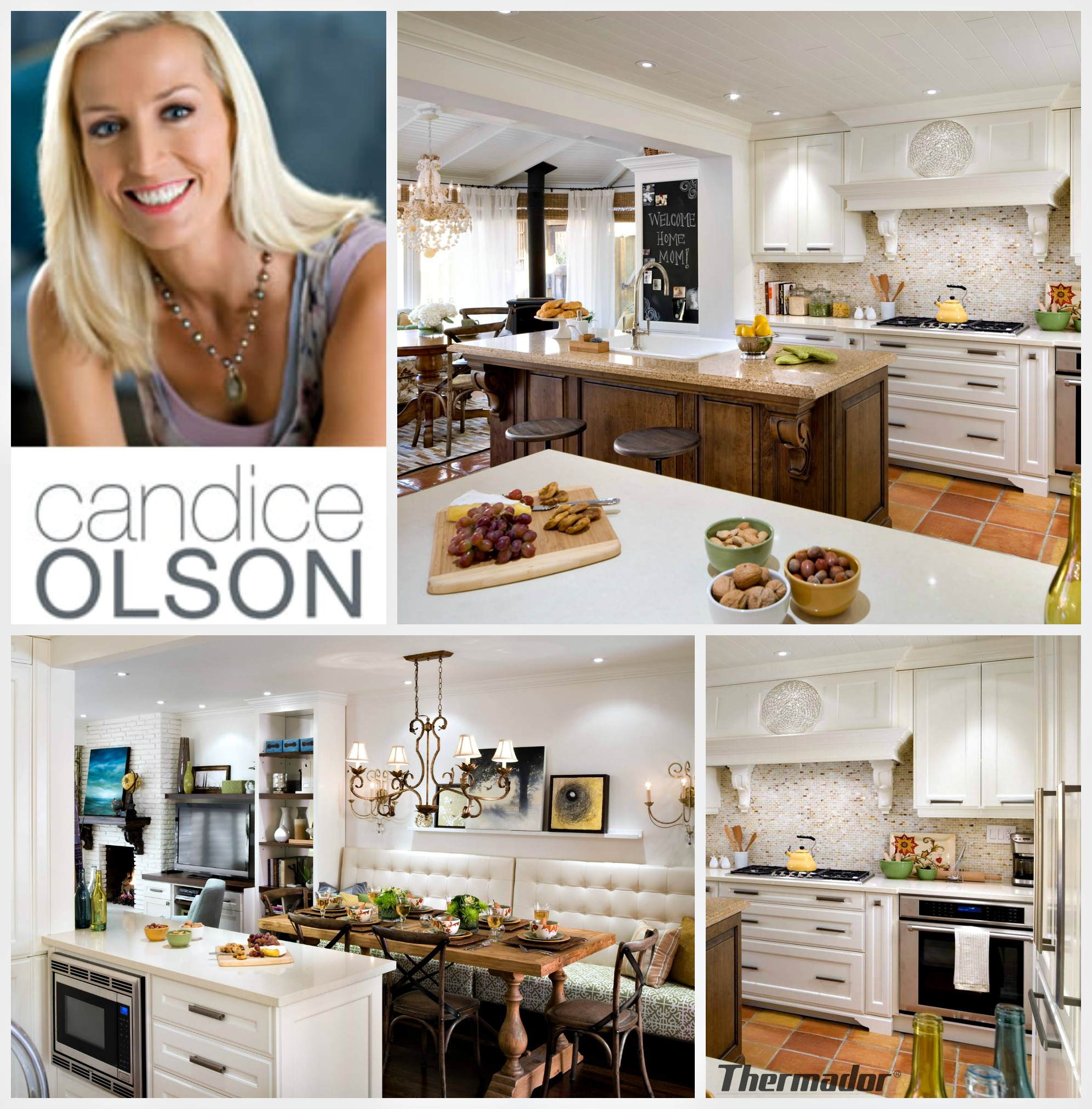 Candice Olson   Thermador   Kitchen For Mom