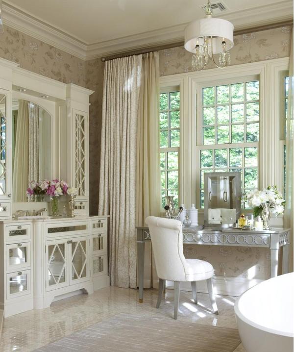 modern vanity stool photo