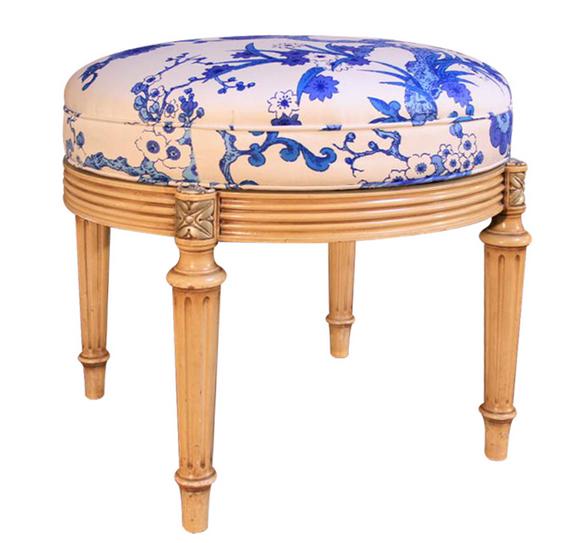 vintage makeup stool