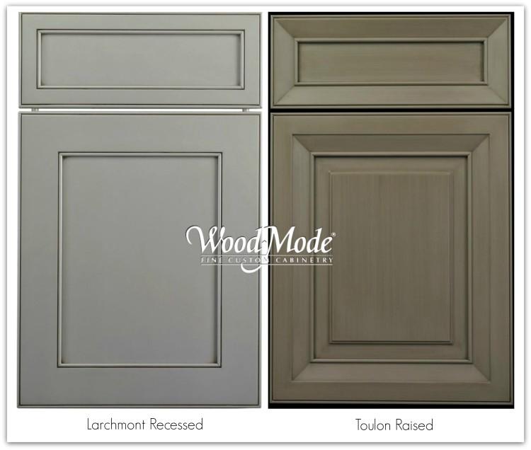 Wood-mode custom cabinet finishes