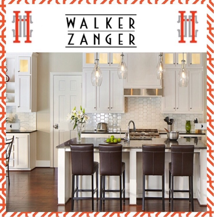 Walker Zanger Tile backsplash