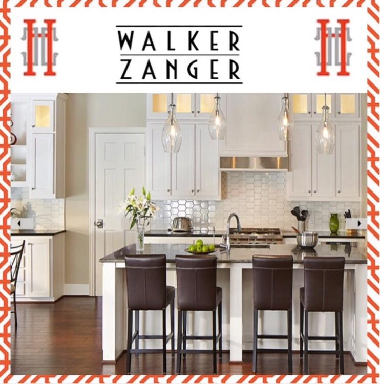 Walker Zanger Tile backsplash