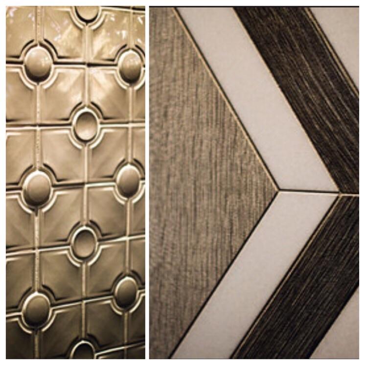 Walker Zanger grey tile design