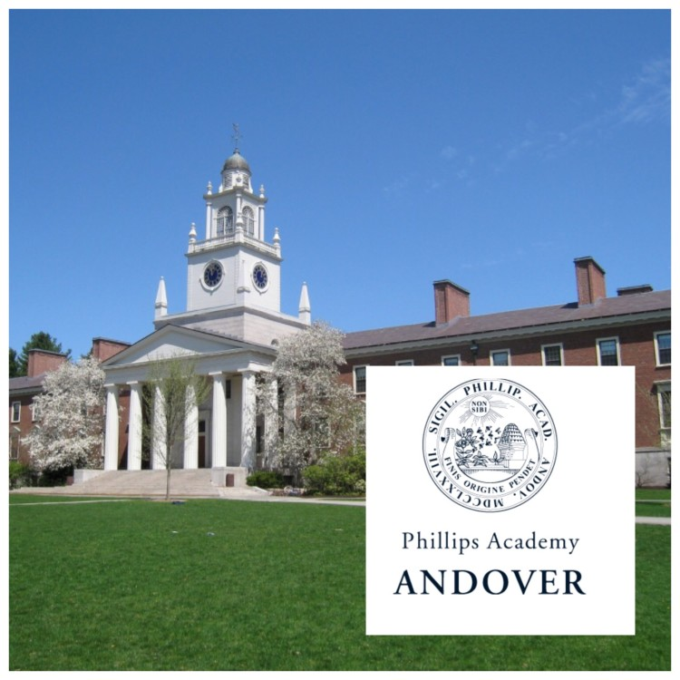 Phillips Academy in Andover, Massachusets
