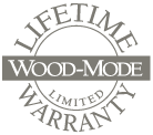 Lifetime Wood-mode warranty logo