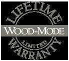 Lifetime Wood-mode warranty logo