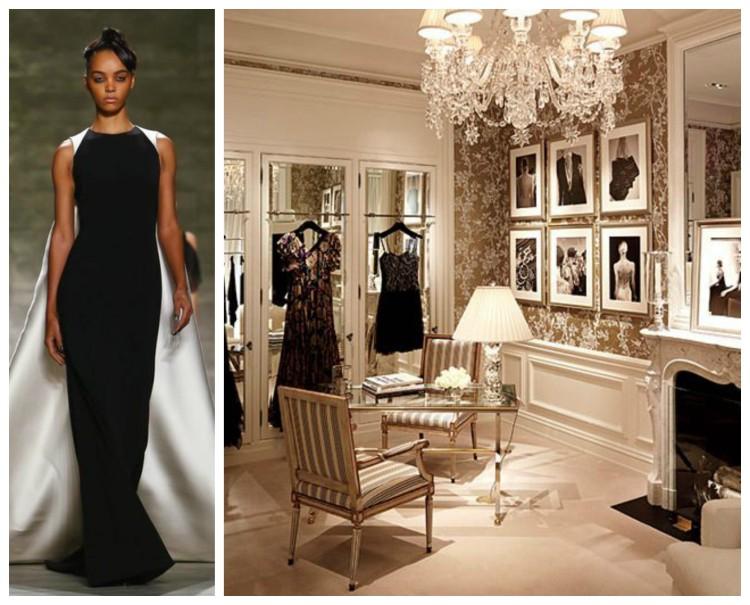 B&W Dressing Room Design