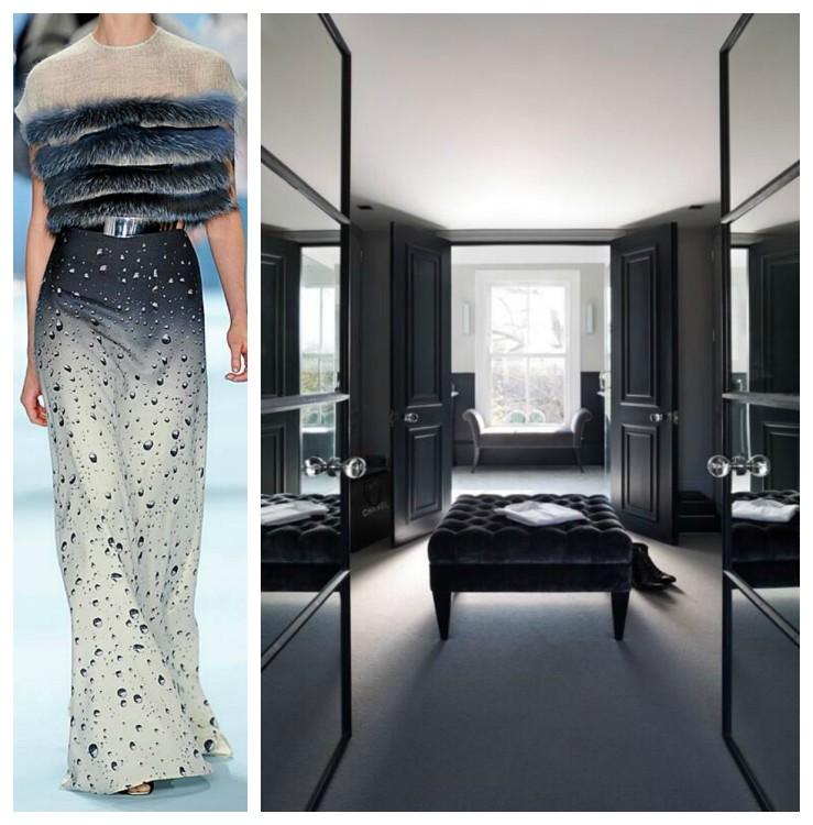 Grey Dressing Room Designs