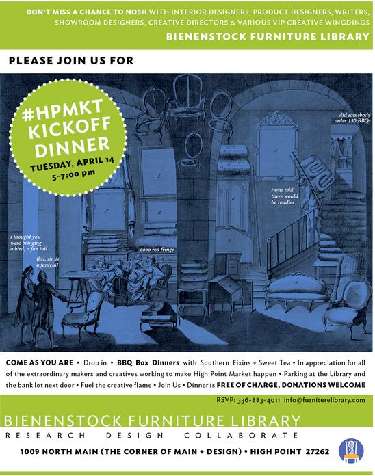 Bienenstock Library - HPMKT- 2015 Kickoff Dinner