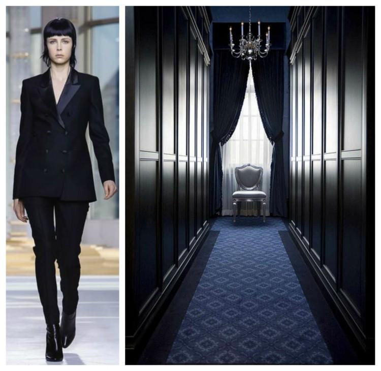 Black Dressing Rooms