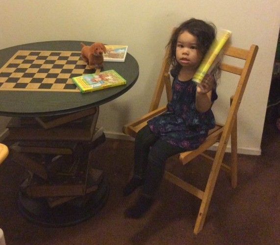 The Tenbury Game Table Arrives In Its New Home To A Young Family And Their Autistic Daughter~