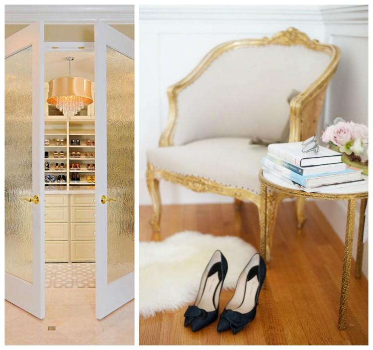 Luxury Gold Closet