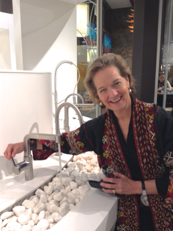 Photo of Caroline Hipple at Pirch in 2015