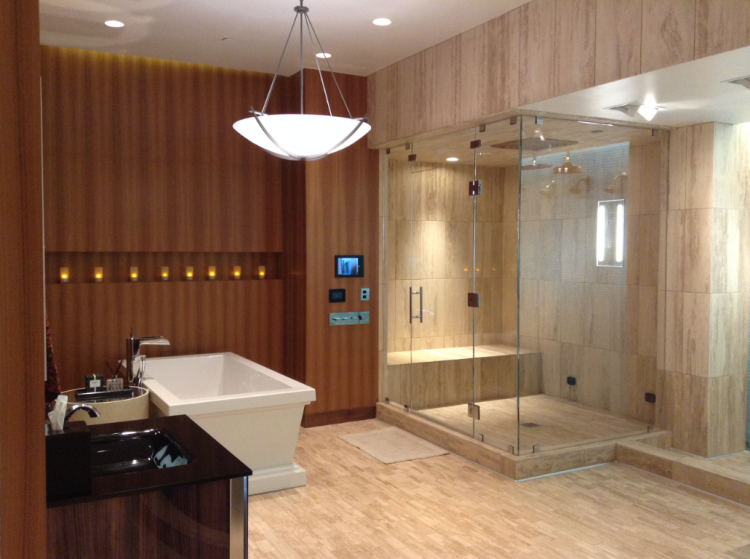 Beautiful bathroom showroom at Pirch in 2015 photograph