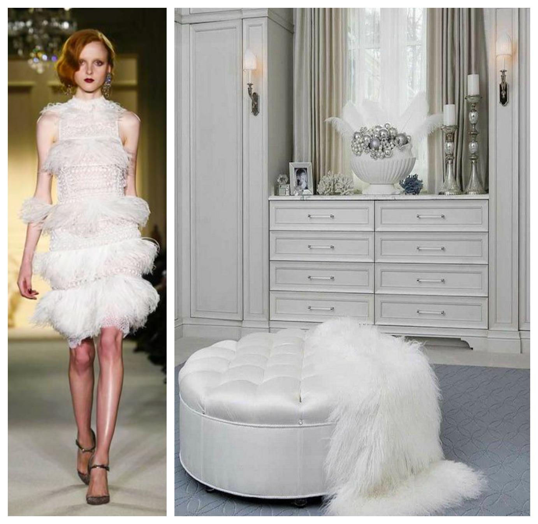 Dress To Room Pairings The Met Gala 2015: Elegant Dressing Room Design Duets