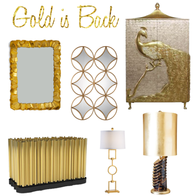 Gold is On Trend For Spring #HPMKT!