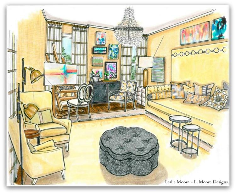 Artists Retreat by Leslie Moore - L. Moore Designs v2