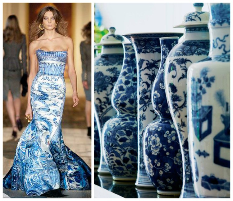 Get inspired in both vases and dresses