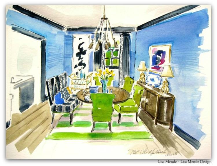 Breakfast Room by Lisa Herring Mende - Lisa Mende Design v2