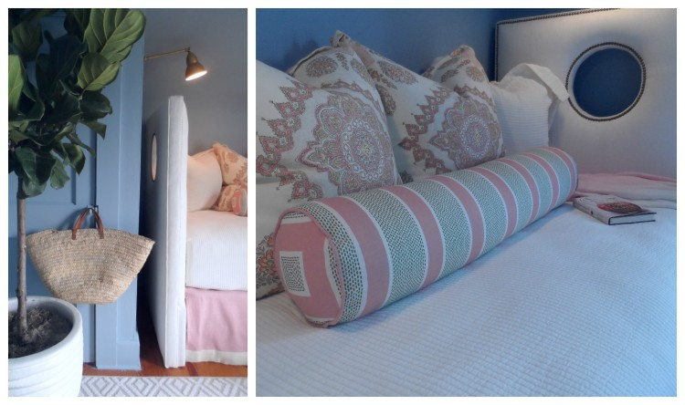 Carriage House Bedroom 2 by Laura Covington - JLHPSHOWHOUSE - HPMKT - photos by Lynda Quintero-Davids
