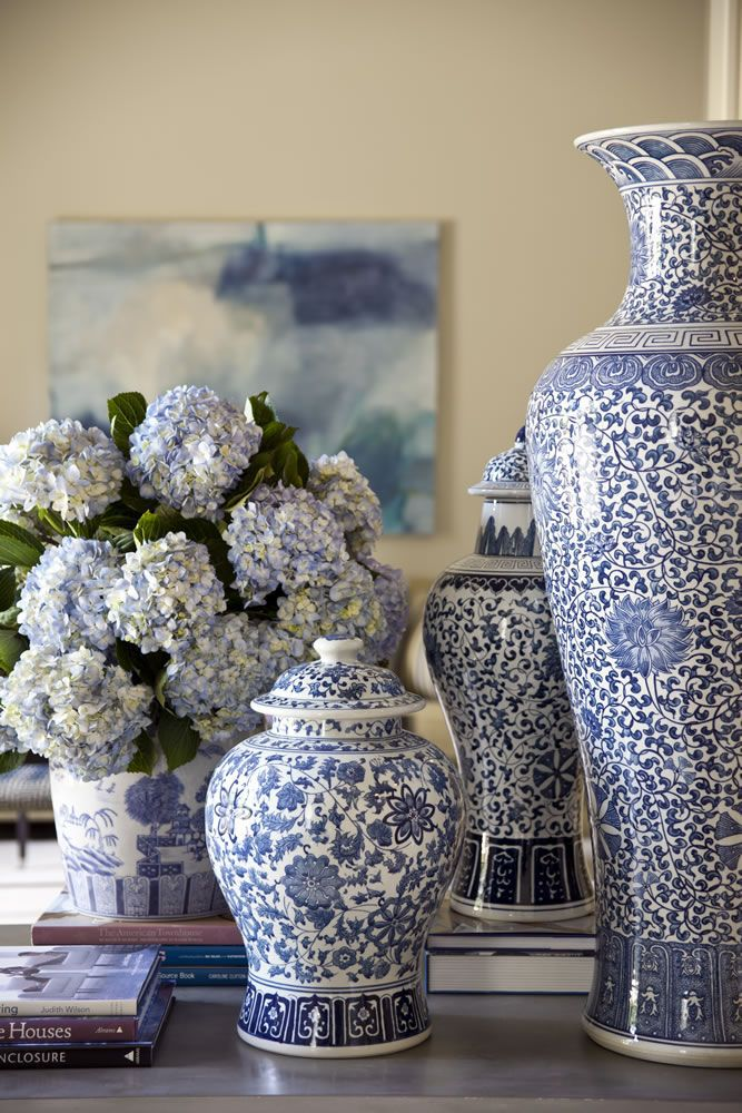 Decorating With Blue and White - A Perennial Spring Favorite ...