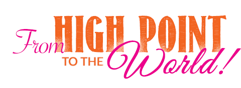 High Point to the WORLD - JLHPSH theme - Logo design by Madcap Cottage