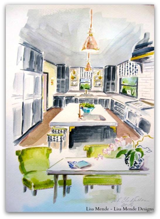 Kitchen by Lisa Herring Mende - Lisa Mende Design v2