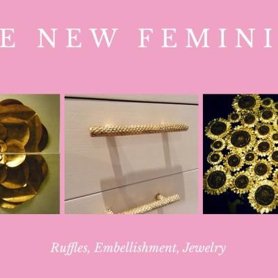 The New Feminine – Part 3: Ruffles, Embellishment & Jewelry Inspired Details!