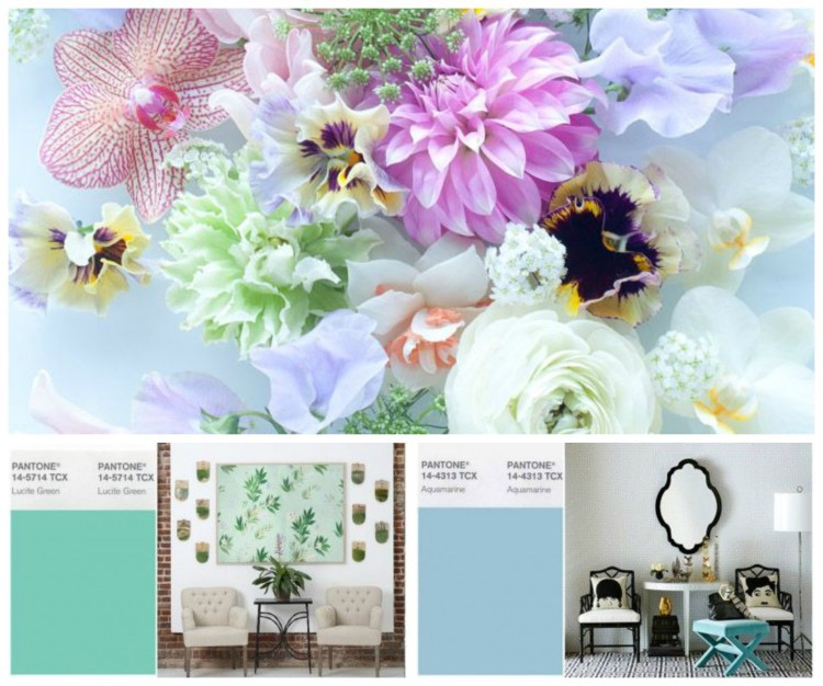 PANTONE SPRING COLORS 2015 Collage - Lynda Quintero-Davids for Hadley Court