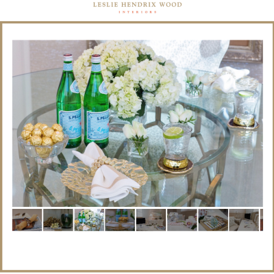 Exciting News! The Launch of Leslie Hendrix Wood Interiors.Com!