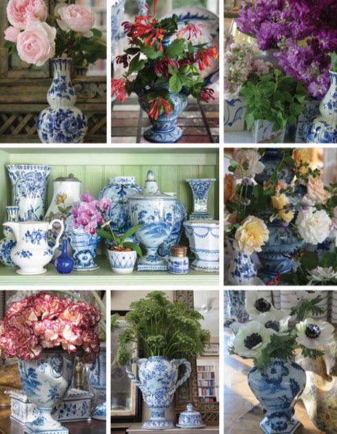 Charlotte Moss Flower Pots and Gardening