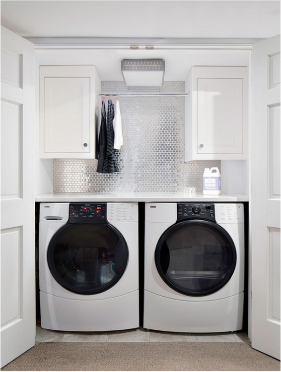 Small luxury laundry room renovations