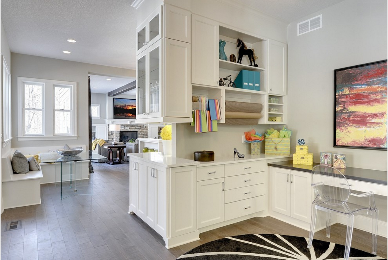 Organizing Your Kitchen Cabinets For Crafts