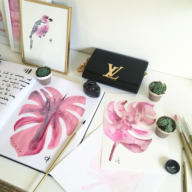 watercolors by nectar and stone
