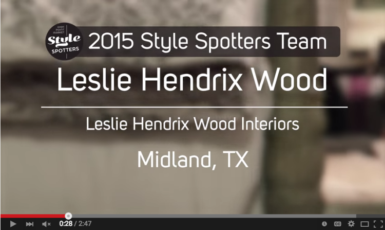 High Point Market StyleSpotters video