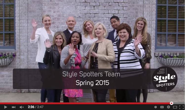 The 2015 High Point Market StyleSpotters