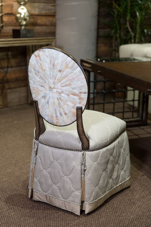 Style Spotted by Midland, TX interior designers Leslie Hendrix Wood at Spring 2015 #HPMKT Market, Marge Carson's OPHELIA chair