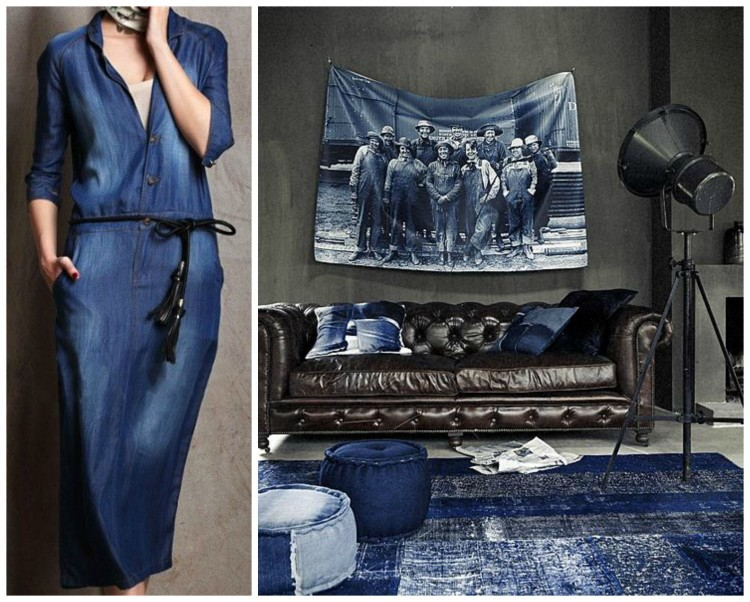 High Quality INDIGO DENIM TREND   FASHION U0026 DECOR   Design Duets By Lynda  Quintero Davids For