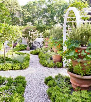 Charlotte Moss Garden Interior